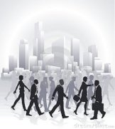 business-people-rushing-front-city-skyline-18813894